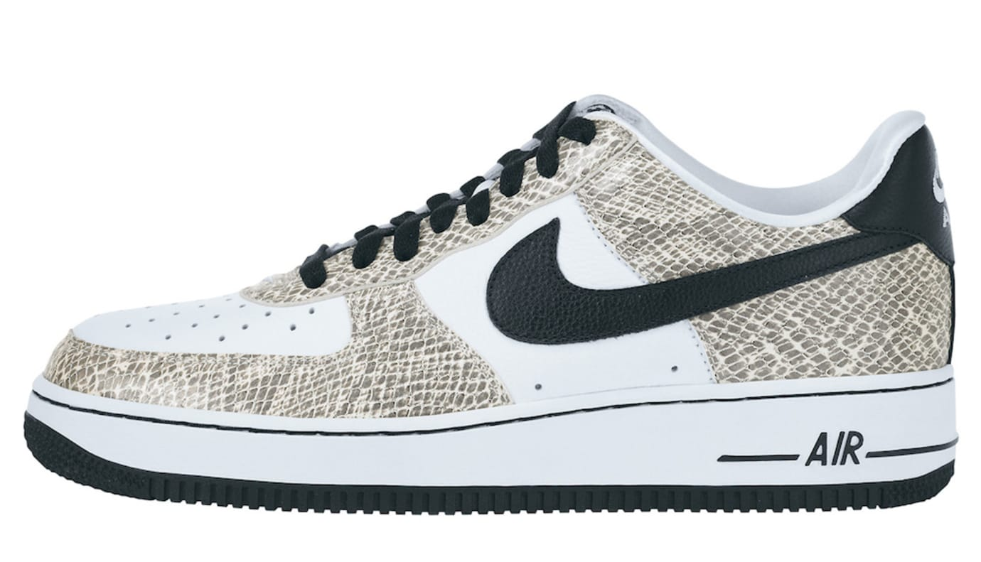 Nike Air Force 1 Low 'Cocoa Snake' 845053-104 (Lateral)