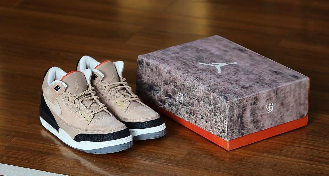 Justin Timberlake x Air Jordan 3 JTH NRG 'Bio Beige' AV6683-200 (With Box)