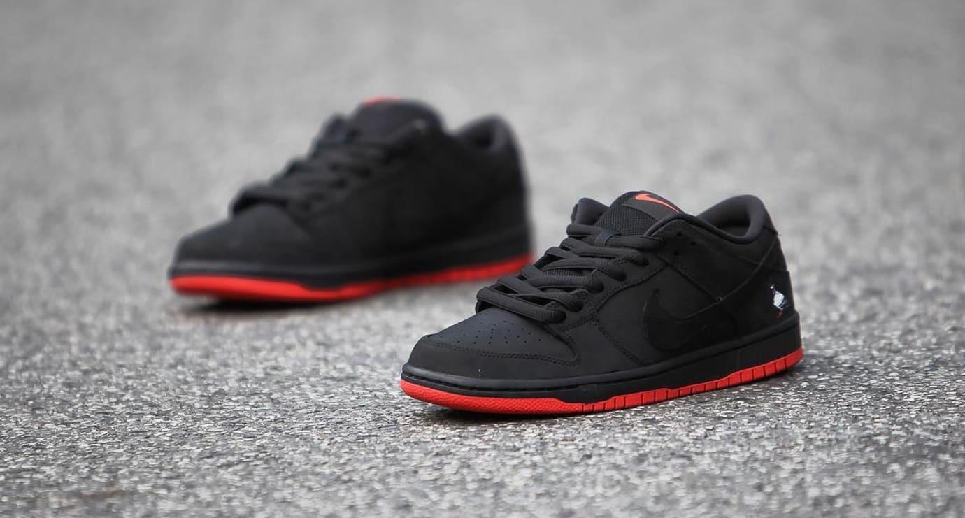 Nike SB Dunk Low Black Pigeon Release Date 88323-008 (5)