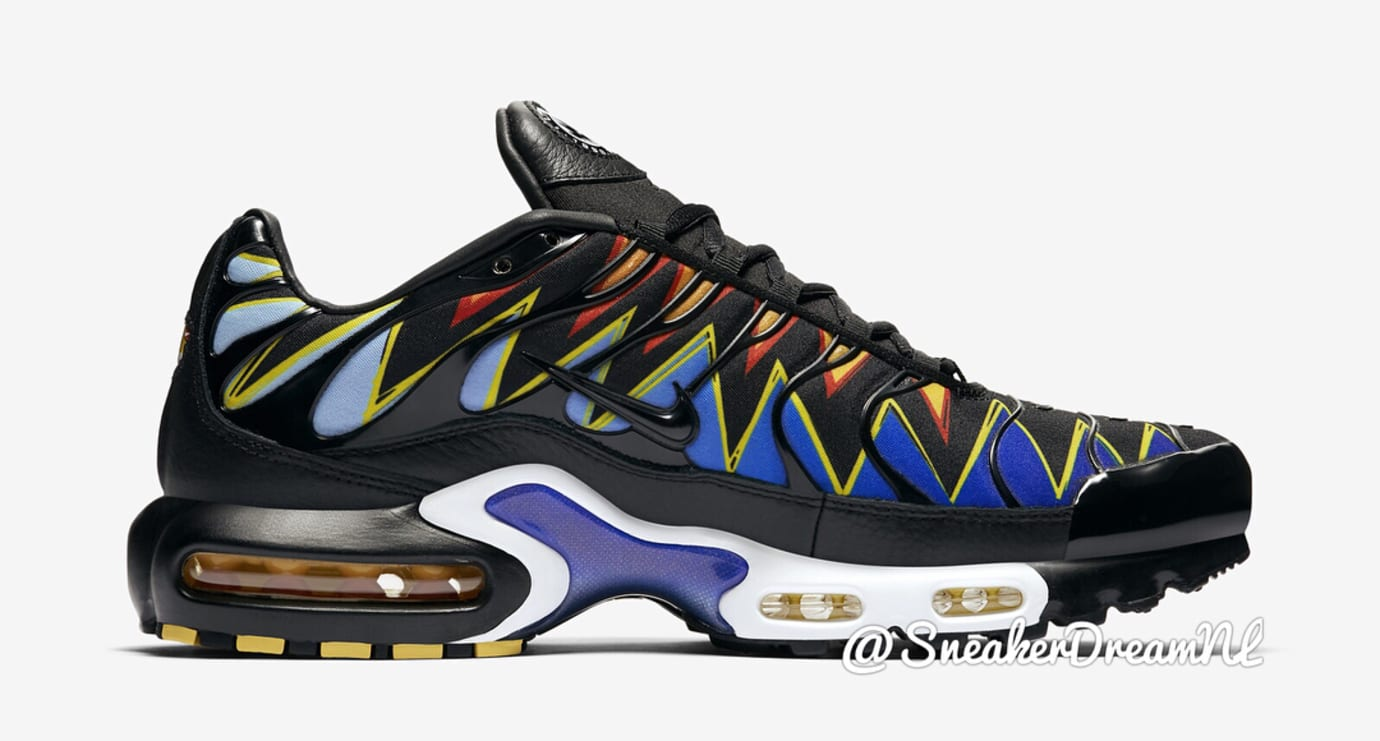 low priced 1e0cc 7a238 The Nike Air Max Plus TN Releasing in 'Hyperblue Tiger ...