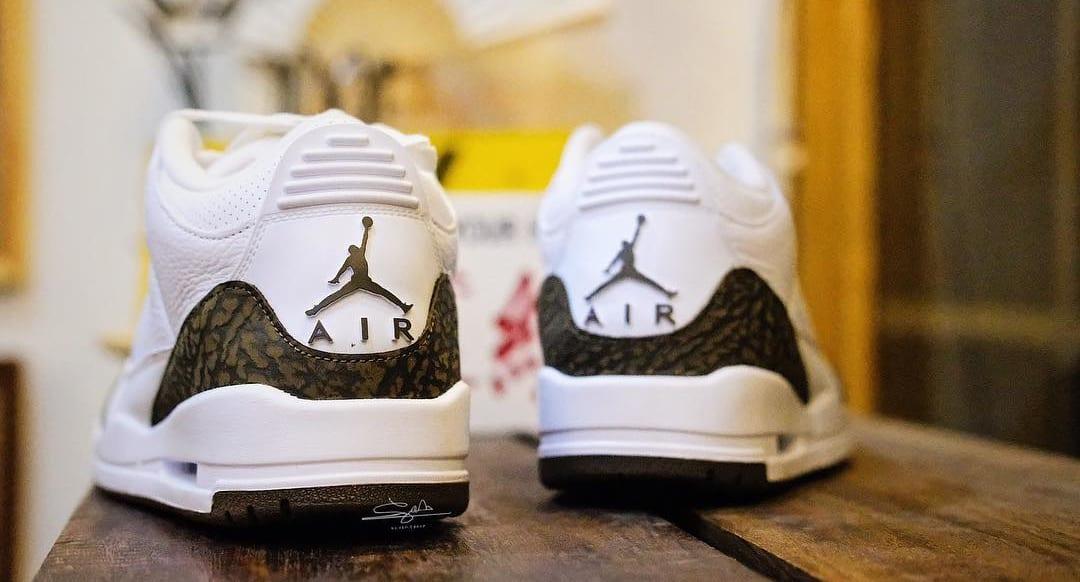 Air Jordan 3 'Mocha' 136064-122 (Heels)