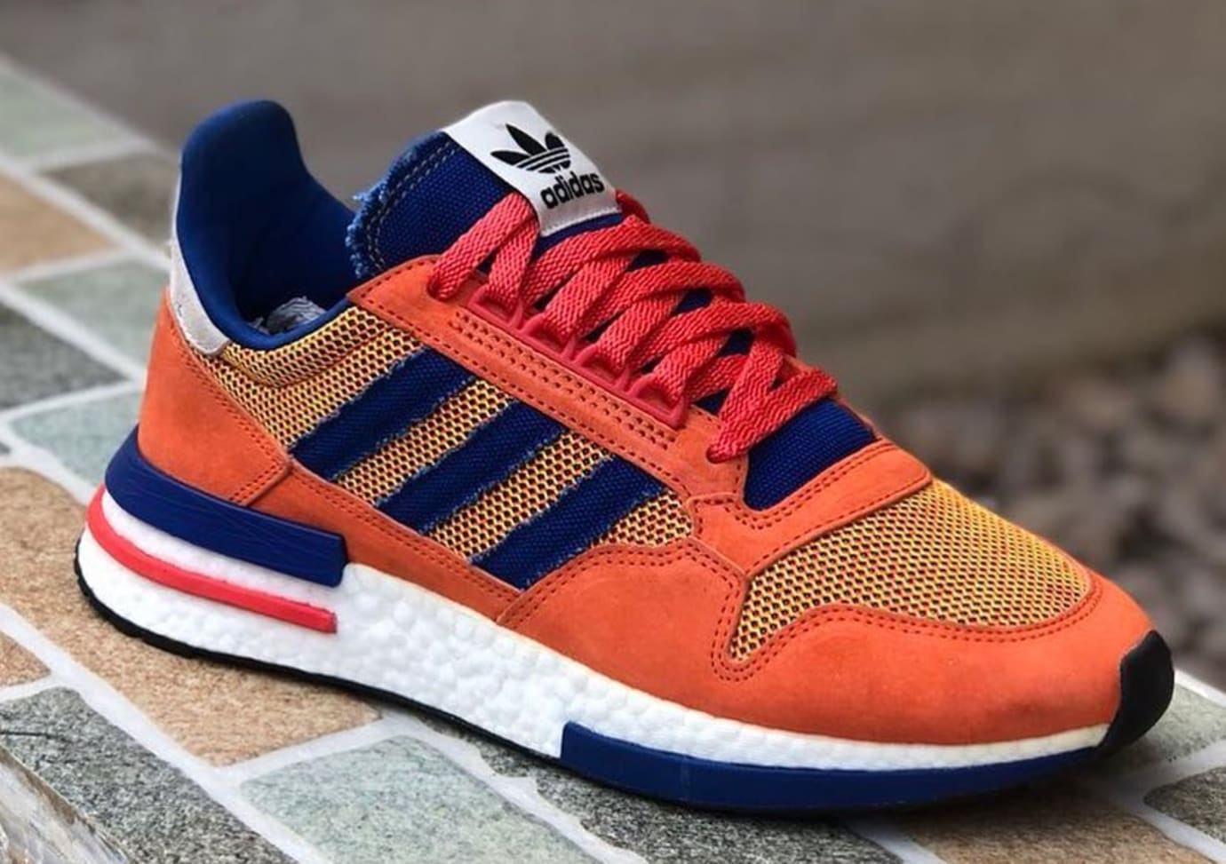203ece4ad Image via  dreamcollector1 · Dragon Ball Z x Adidas ZX 500 RM  Goku