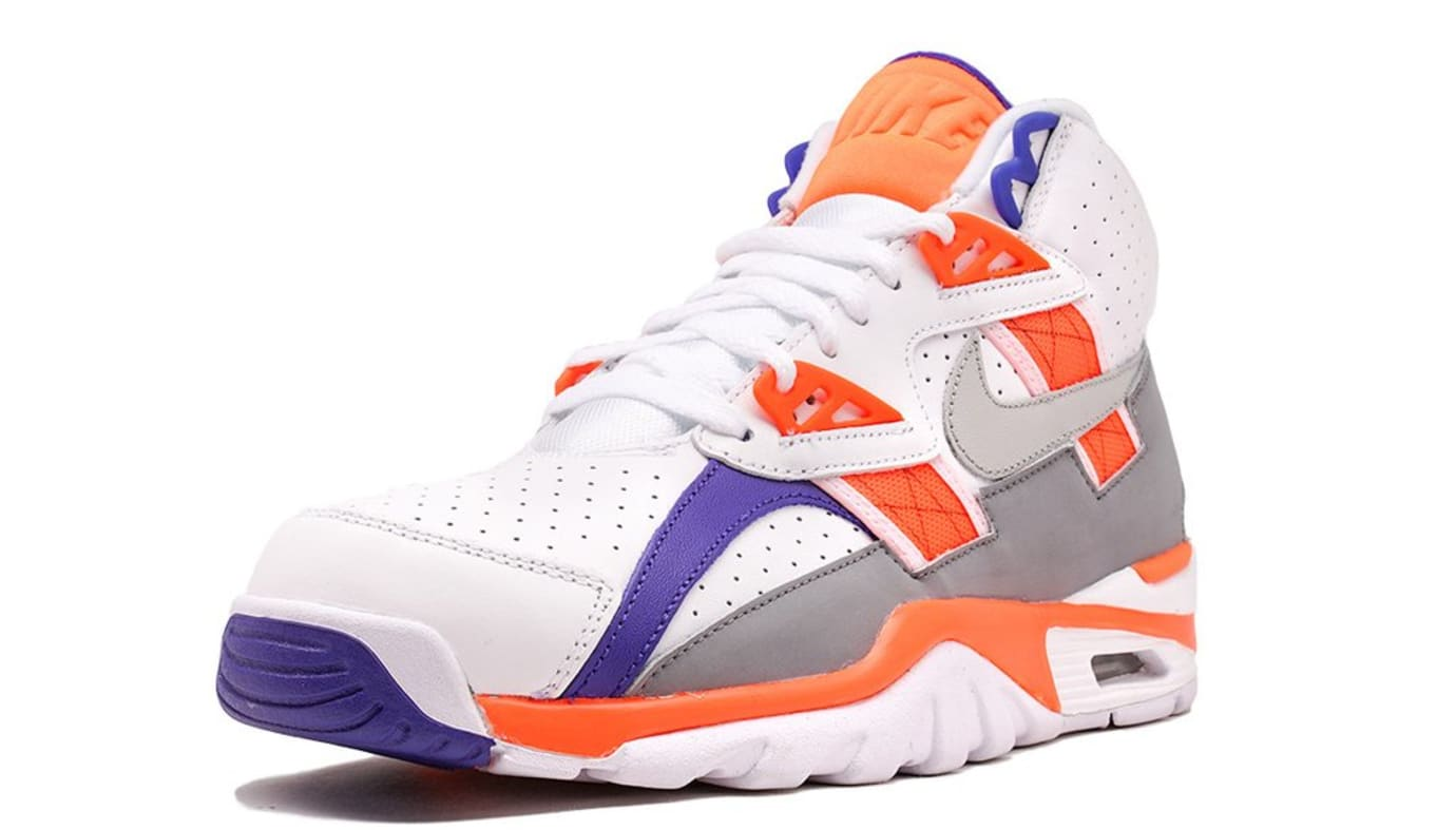 a868e26aa57f04 Bo Jackson Nike Air Trainer SC High Auburn 2017 Release Date Front 302346- 106