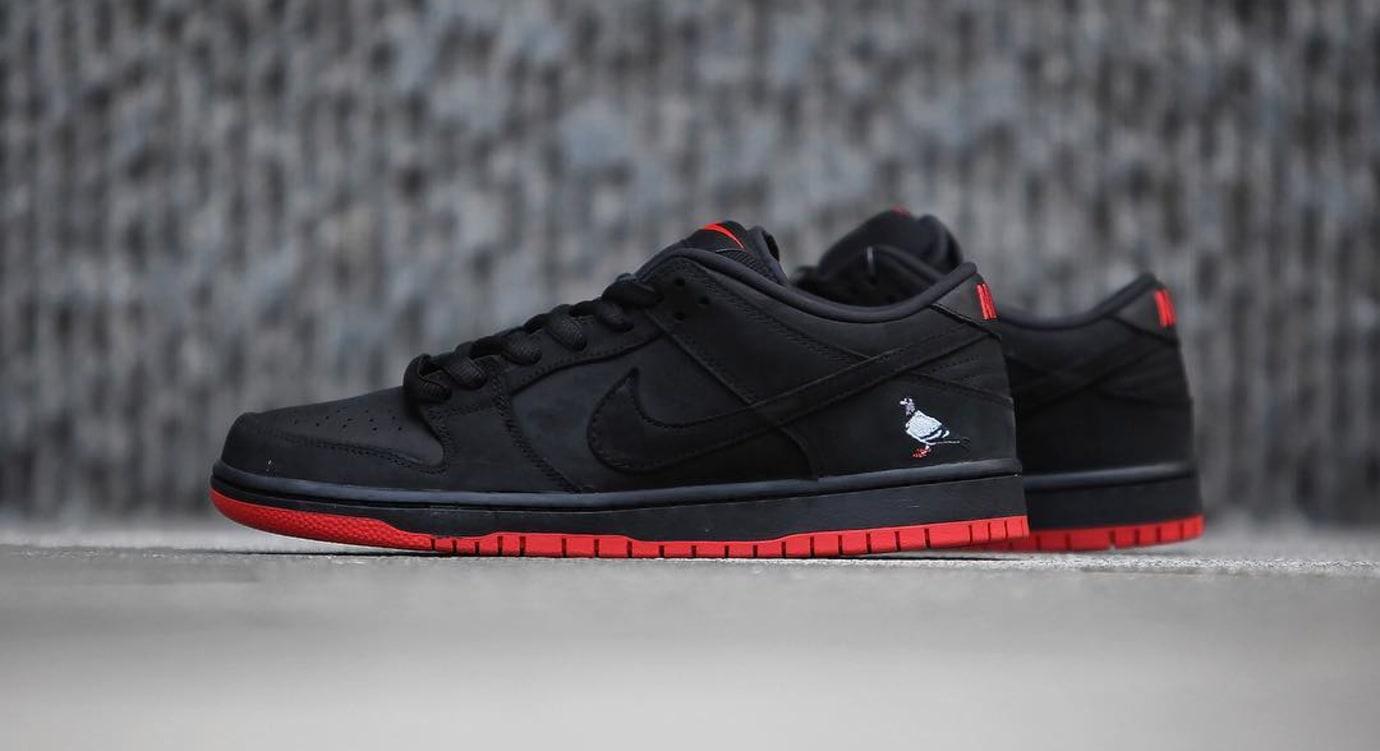 Nike SB Dunk Low Black Pigeon Release Date 88323-008 (7)