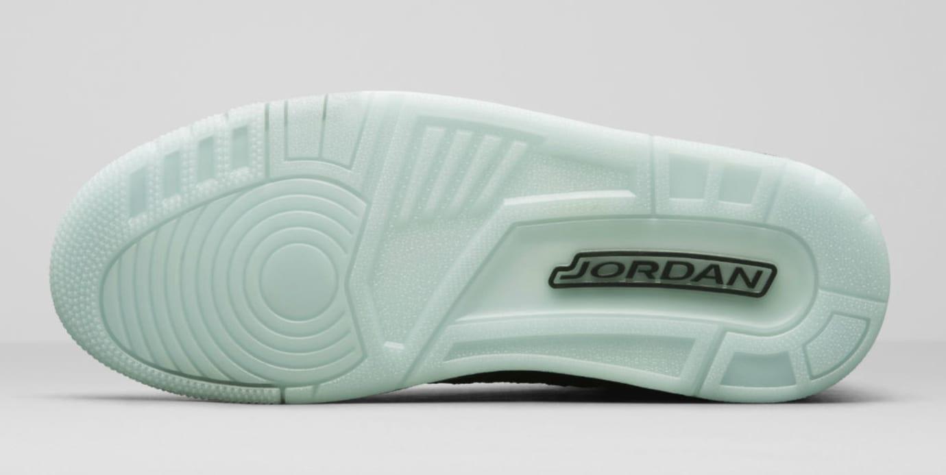 Air Jordan 3 III Flyknit Black Glow Release Date AQ1005-001 Sole