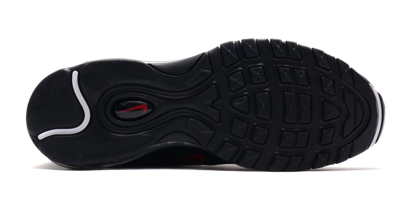 new concept 13fe1 9105a Nike Air Max 97 BlackUniversity Red-Black AR4259-001 (Bottom)