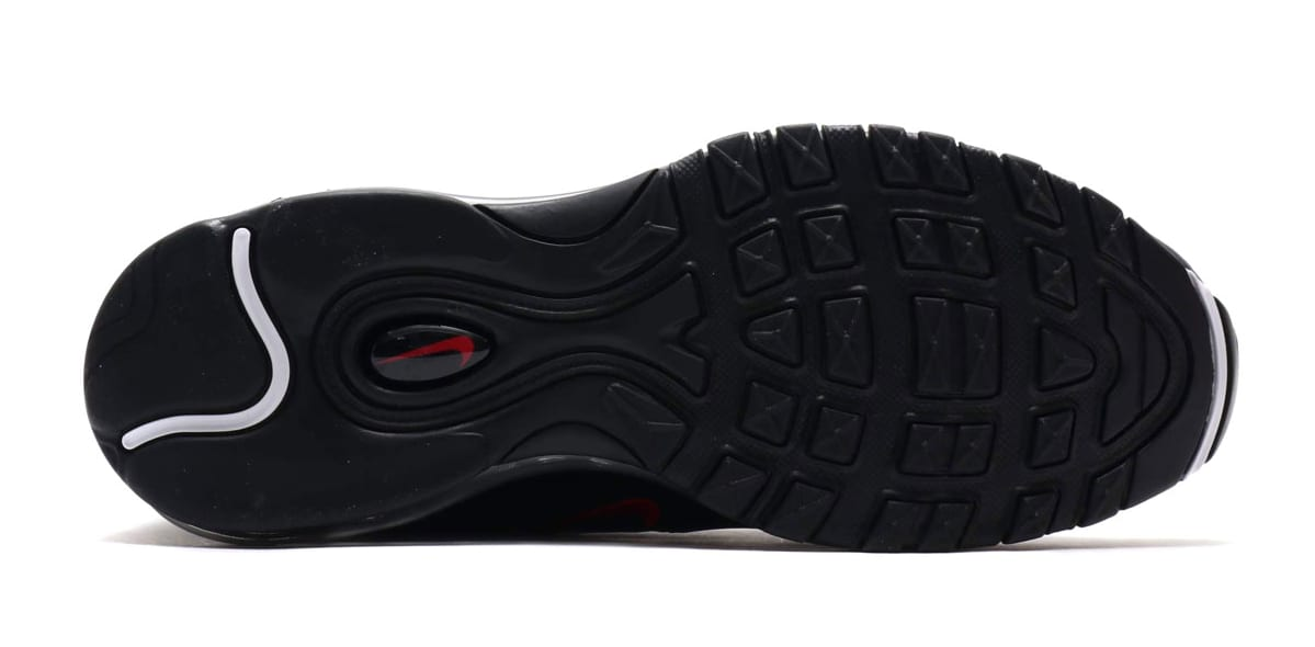 Nike Air Max 97 Black/University Red-Black AR4259-001 (Bottom)