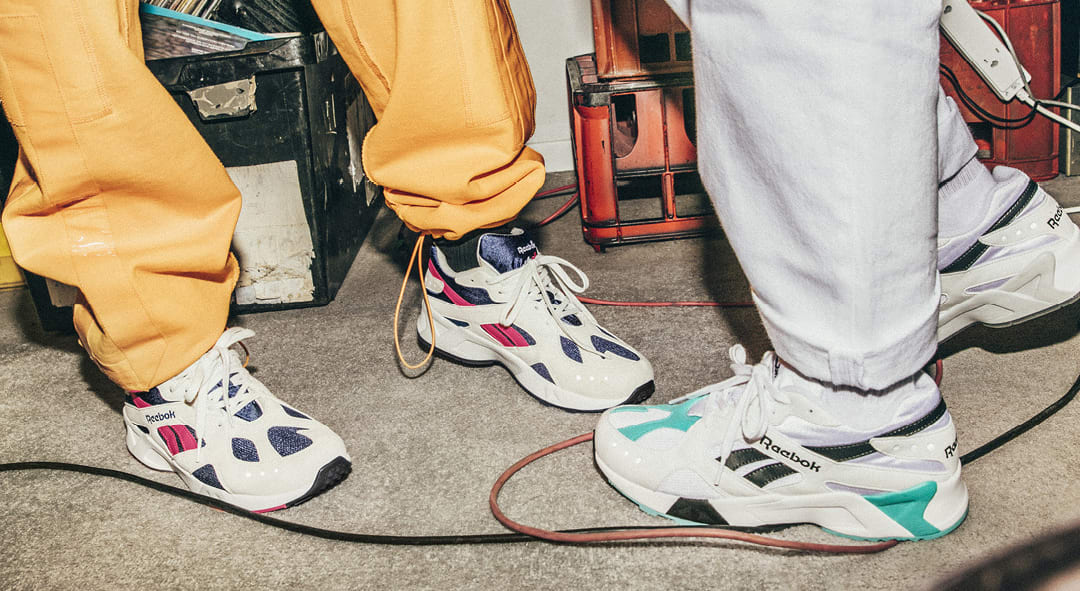 Reebok Aztrek OG CN7067 and CN7068 (On-Foot)