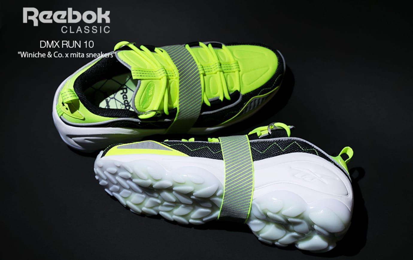 Winiche & Co x Mita Sneakers x Reebok DMX Run 10 (Top and Sole)
