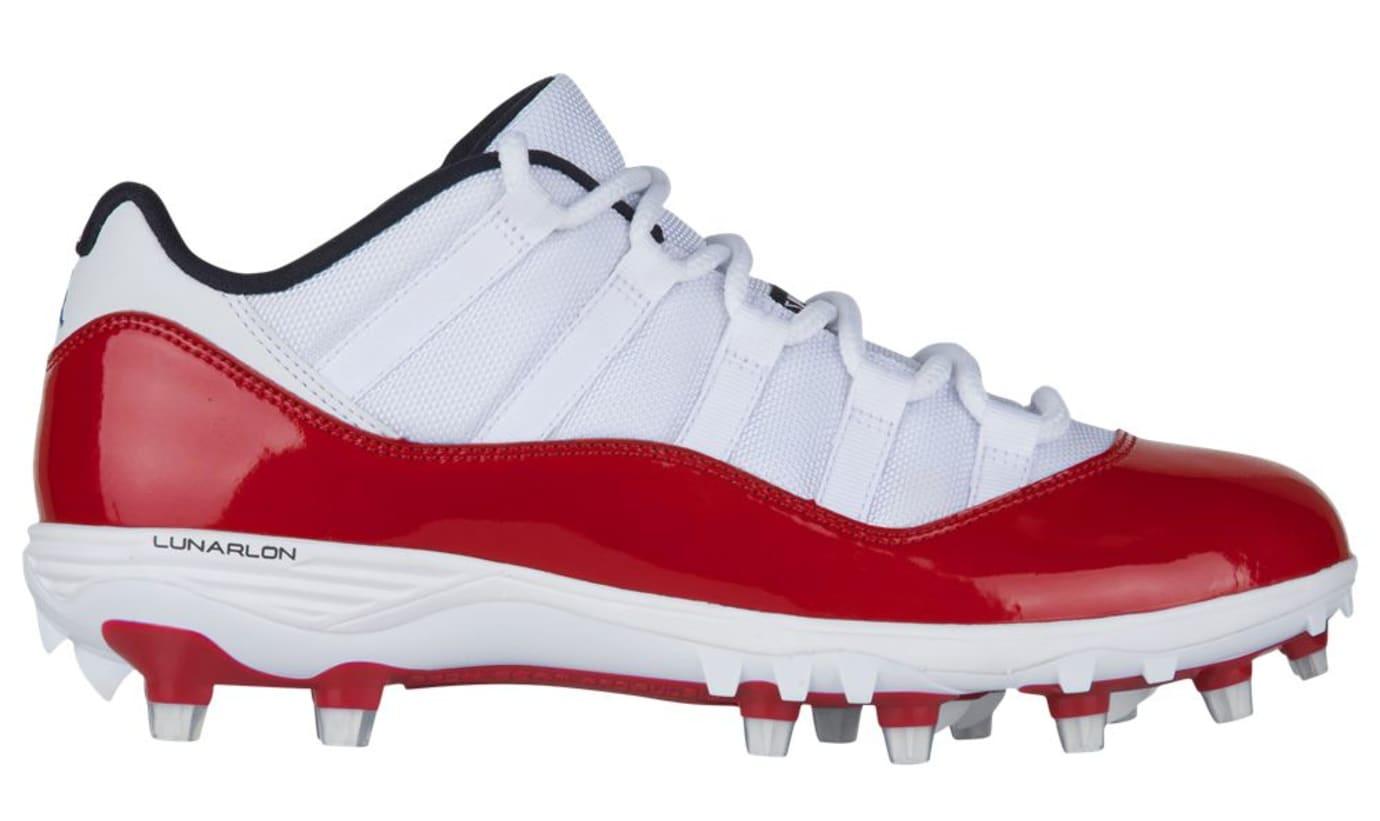 Air Jordan 11 Retro TD Low 'White Red'