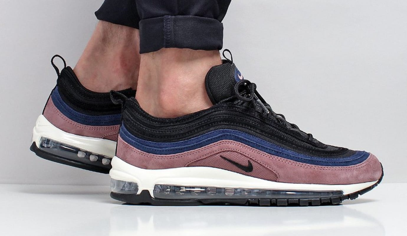 Nike Air Max 97 Premium Smokey Mauve Release Date 312834-204 On-Foot
