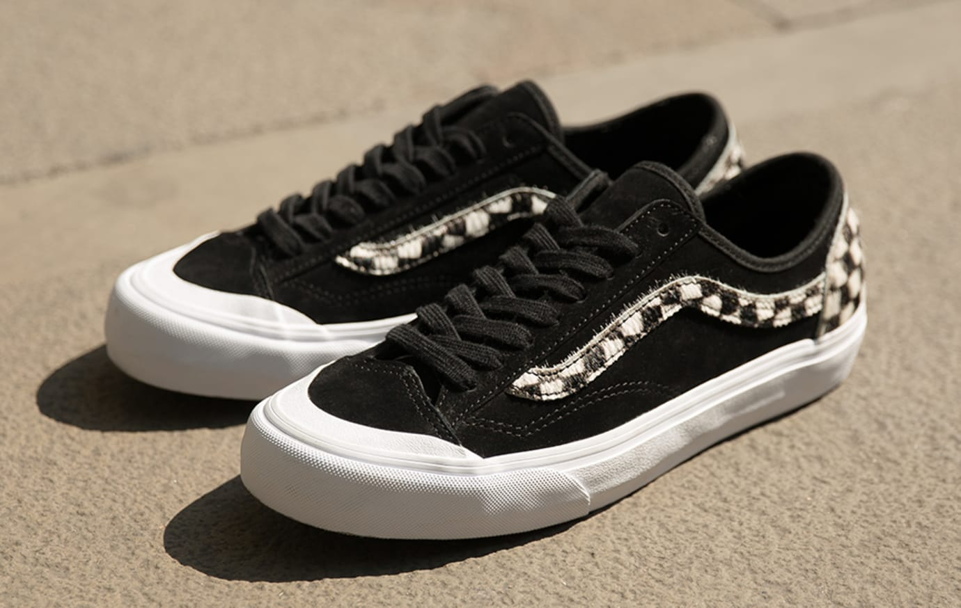 size? exclusive Vans Style 36 'Pony Hair' Pack 'Black' (Pair)