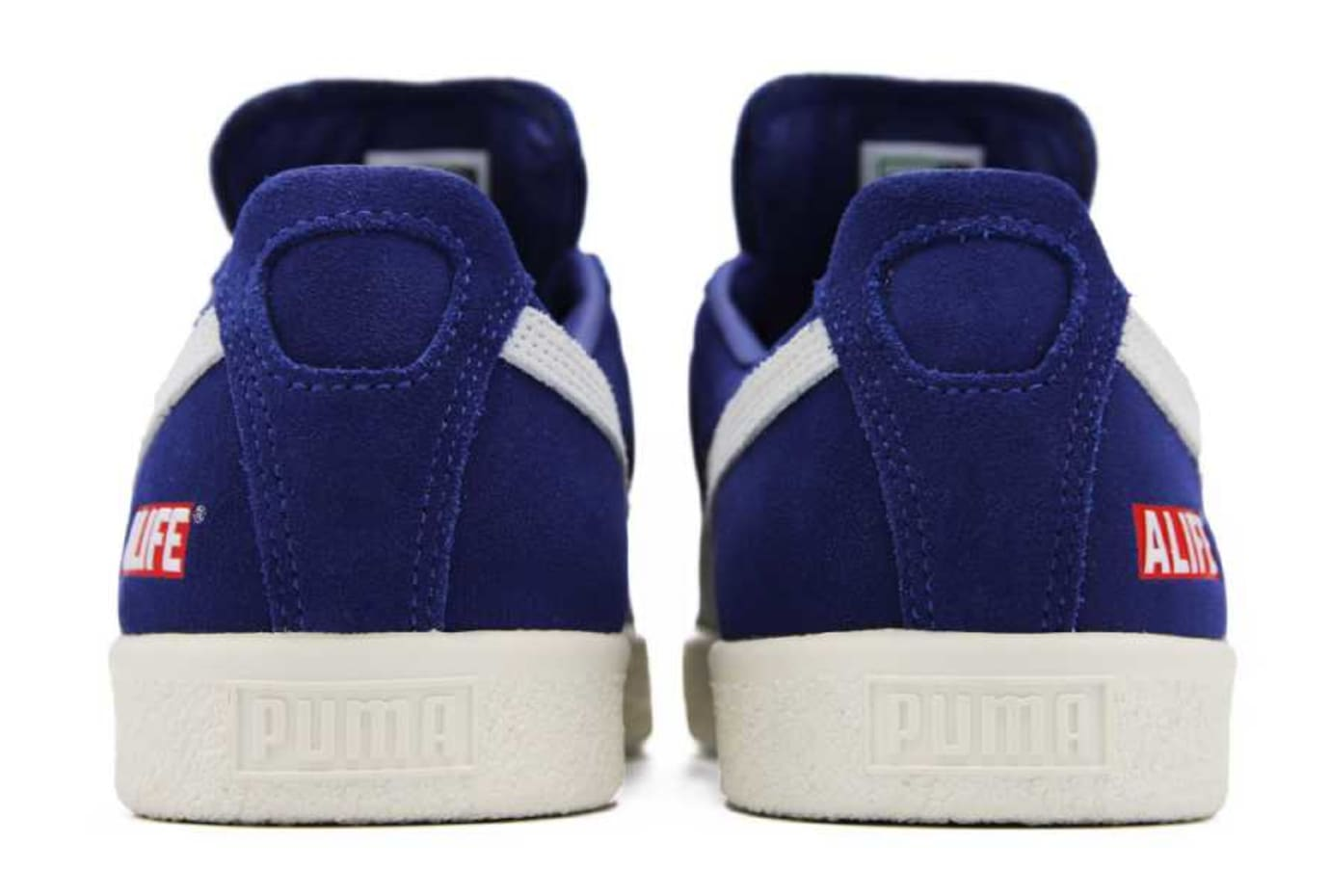 ALIFE x Puma Clyde Blue Release Date Heel