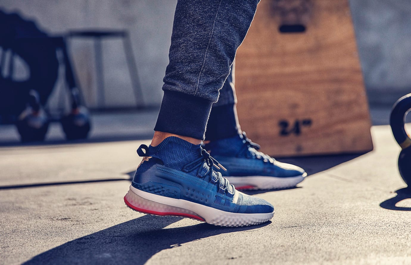 Under Armour Project Rock 1 On-Foot