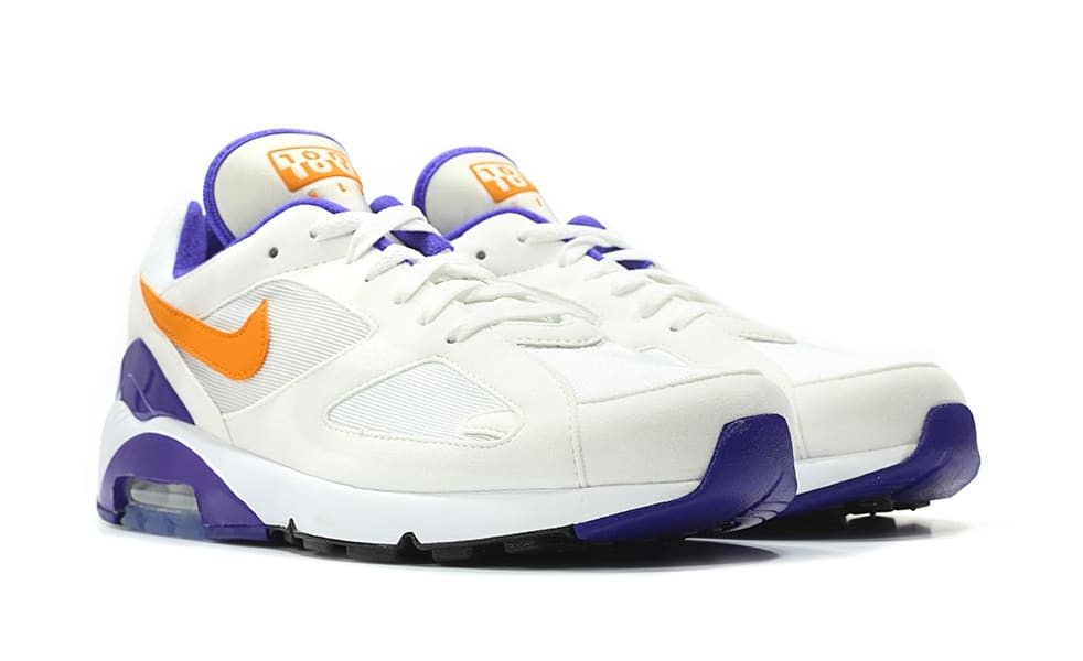 Nike Air Max 180 OG White/Bright Ceramic-Dark Concord 615287-101 (Pair)