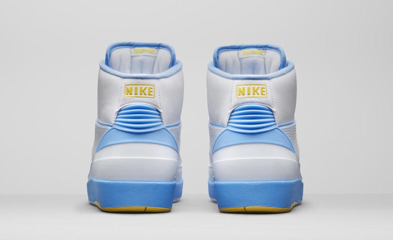newest collection 8d036 66ddc Image via Nike Air Jordan 2  Melo  385475-122 (Heel)