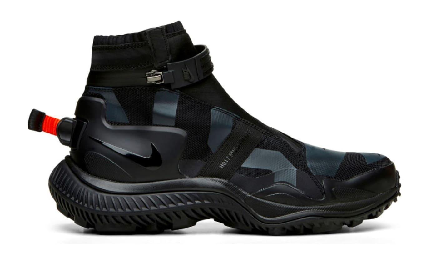 NikeLab Gyakusou Gaiter Boot 'Black' (Lateral)