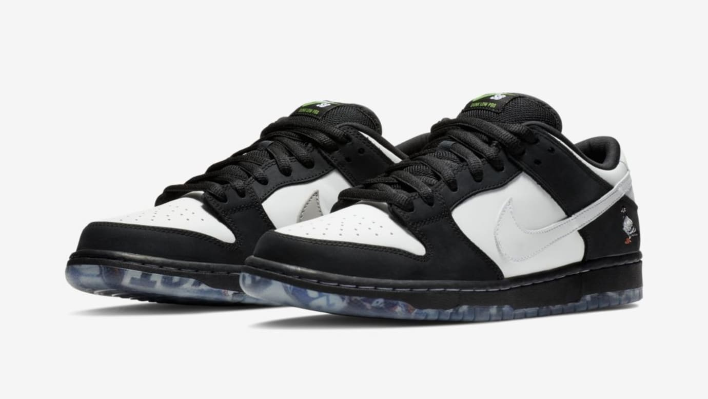 brand new 7d5ed ed8d3 Staple x Nike SB Dunk Low  Panda Pigeon  (Pair)