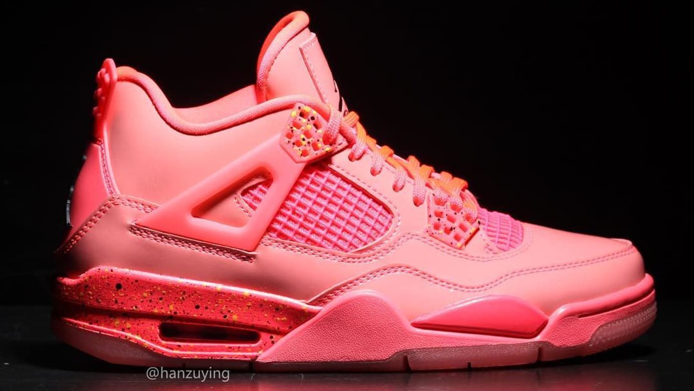 b847f8fbcee Image via Instagram: @hanzuying WMNS Air Jordan 4 'Hot Punch' AQ9128-600  Release Date