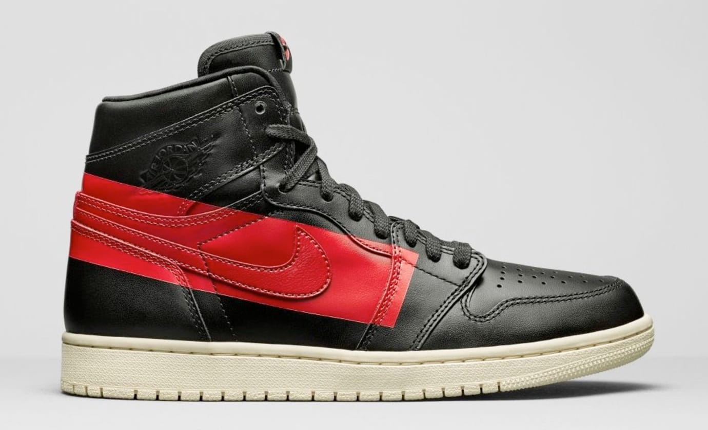 Air Jordan 1 High OG 'Couture' Black/Gym Red-Musline BQ6682-006 (Lateral)