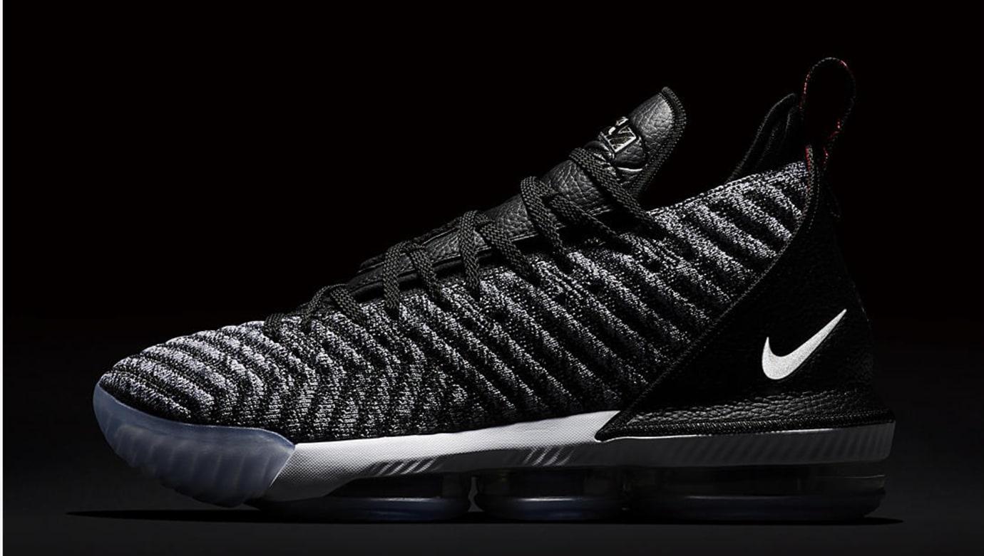 5baebaab13b8e Image via Nike Nike LeBron 16  Oreo  AO2588-006 (Reflective)