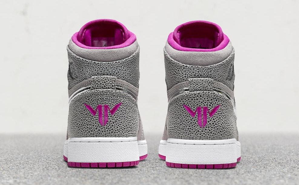 Maya Moore Air Jordan 1 High Release Date Heel 332148-012