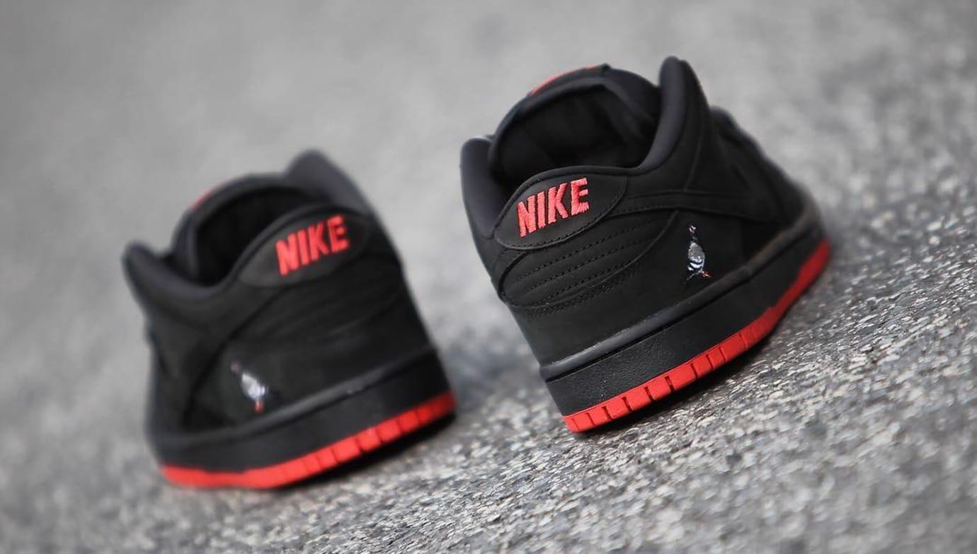 Nike SB Dunk Low Black Pigeon Release Date 88323-008 (4)