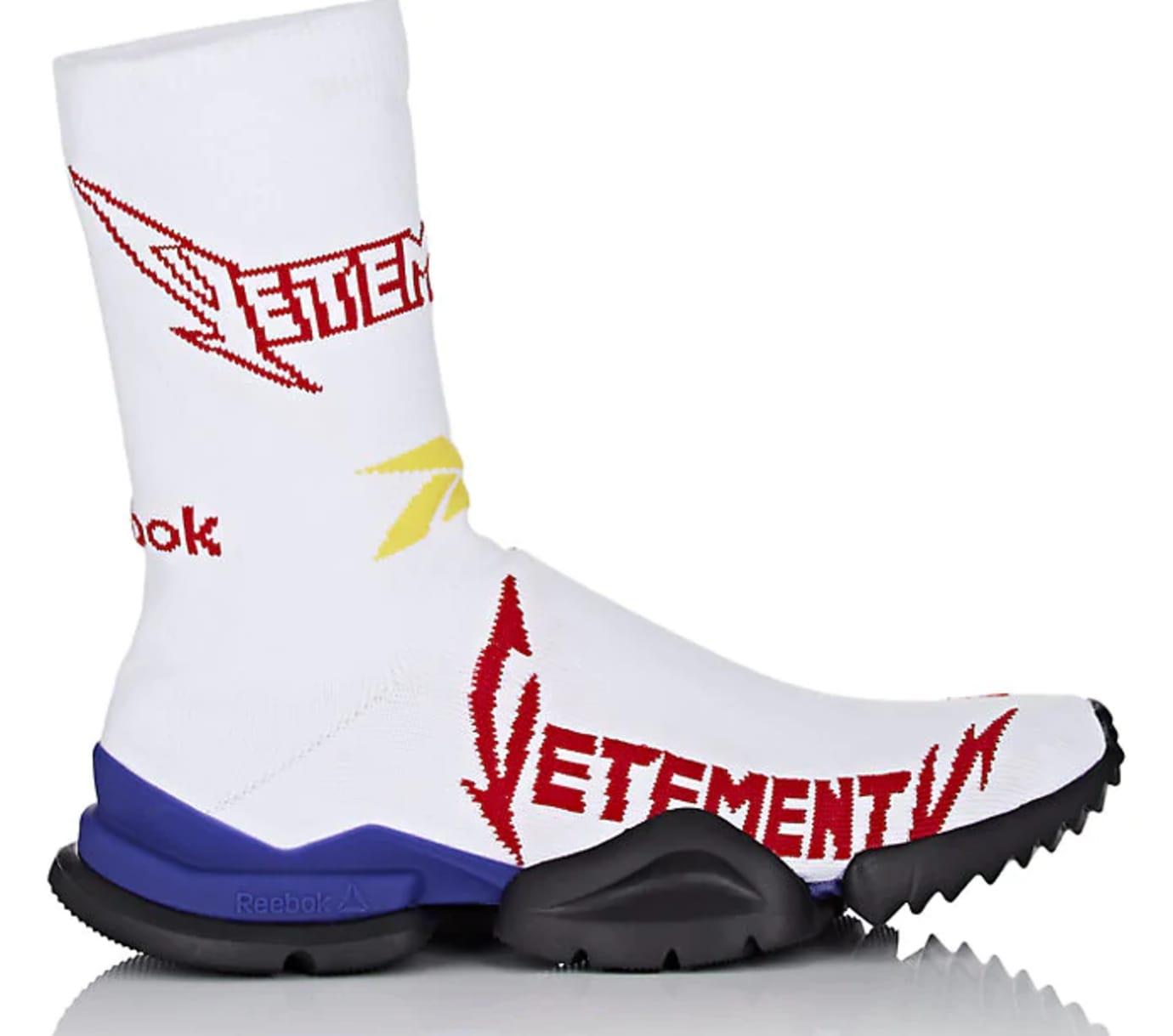 Vetements x Reebok Sock Runner 'White/Red/Yellow'