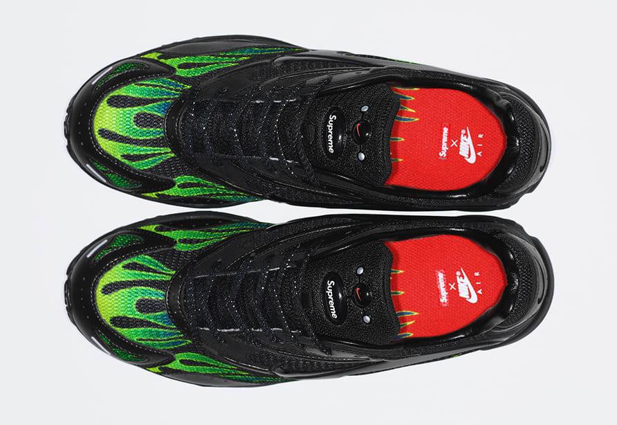 Supreme x Nike Zoom Streak Spectrum Plus AQ1279-001 (Top)