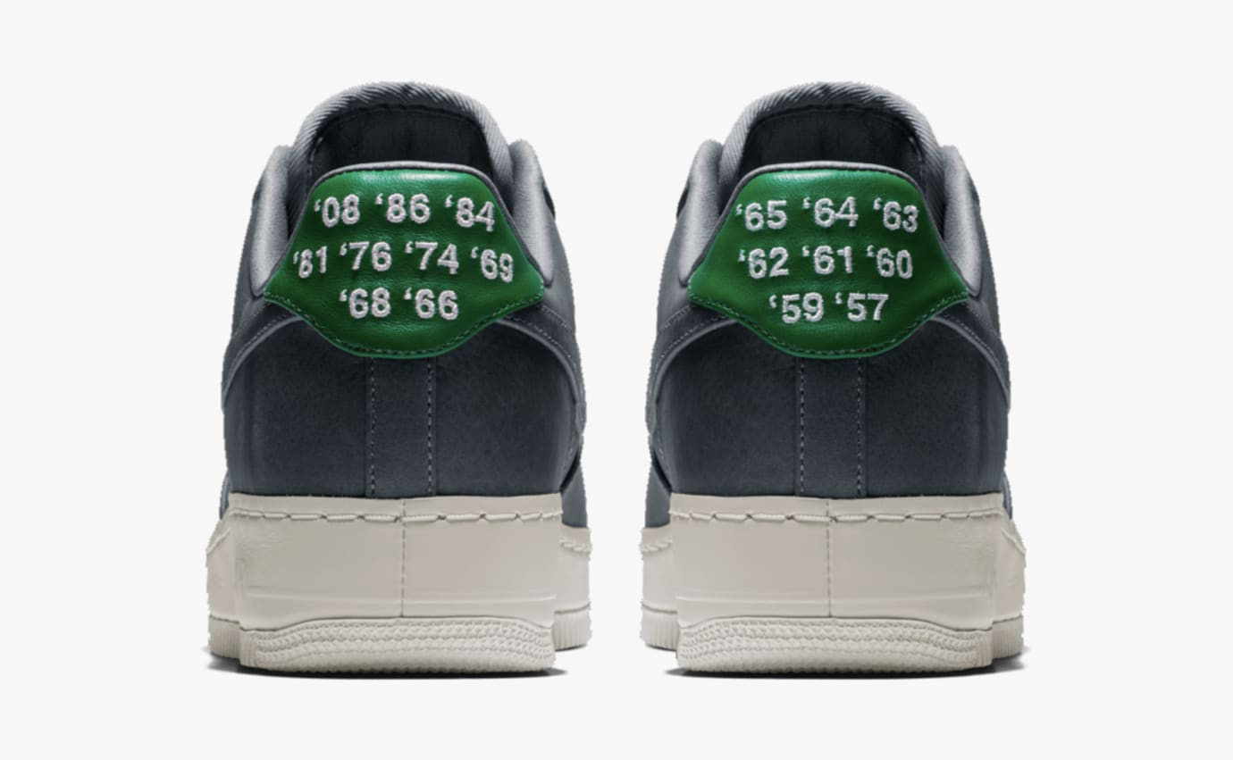wholesale dealer e3cc6 1a9e1 Image via Nike Nike Air Force 1 Low City Edition  Celtics