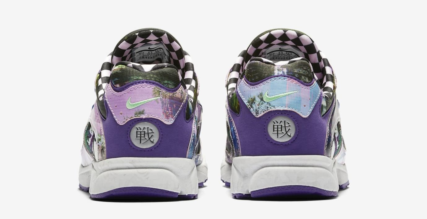 Nike Zoom Streak Spectrum Plus Premium 'Court Purple' (Heel)
