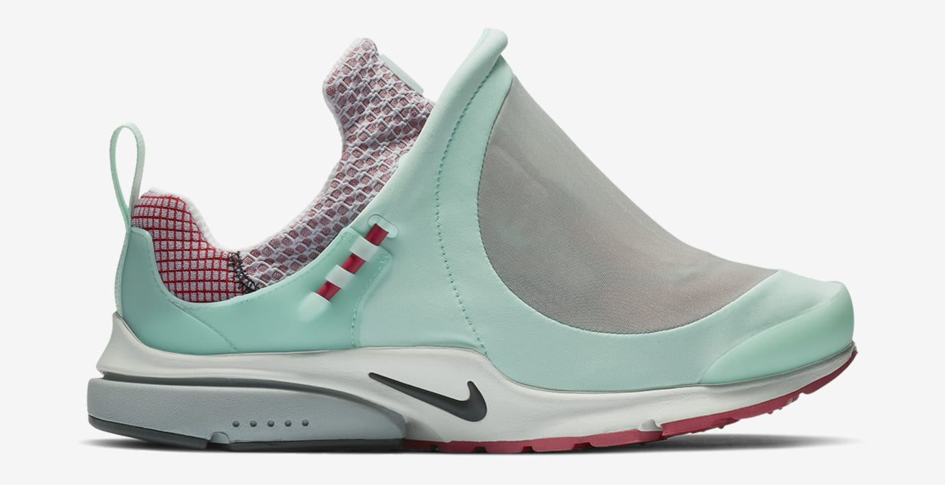 Comme des Garçons x Nike Air Presto Foot Tent 'Blue/Red' (Lateral)