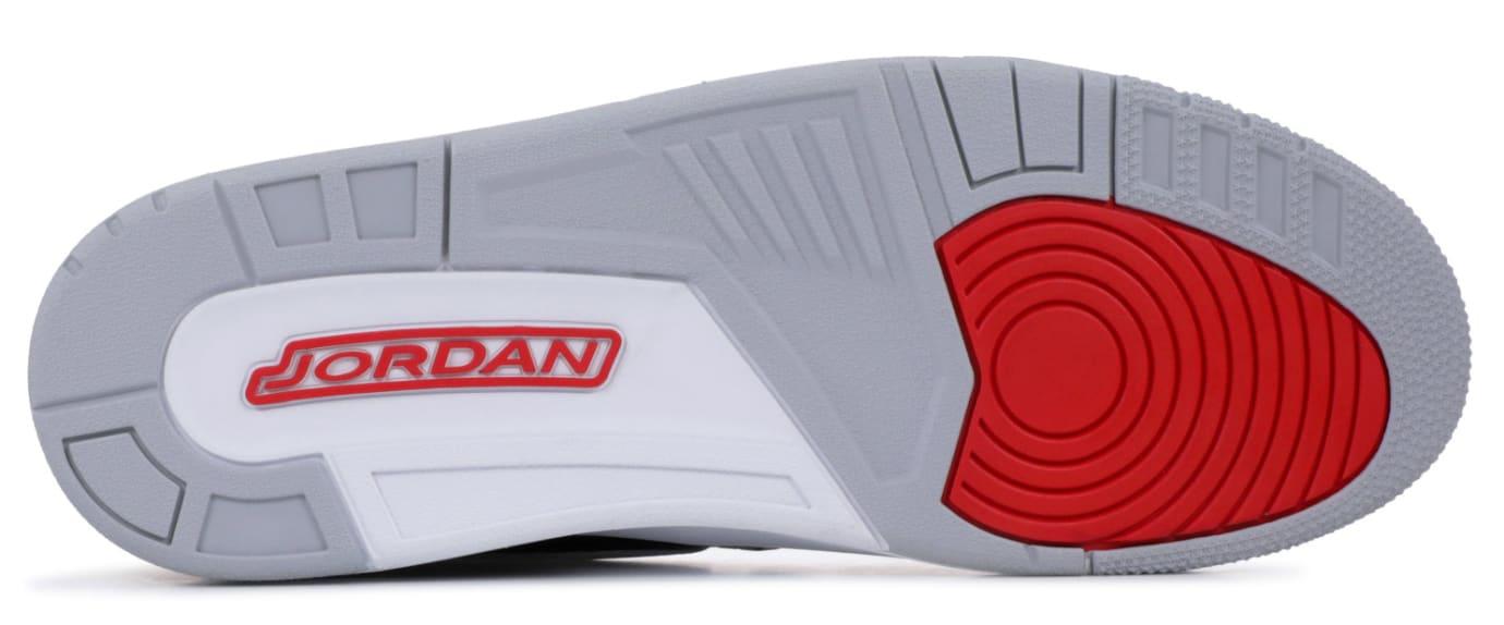 Jordan Legacy 312 Black Cement Release Date AV3922-001 Sole