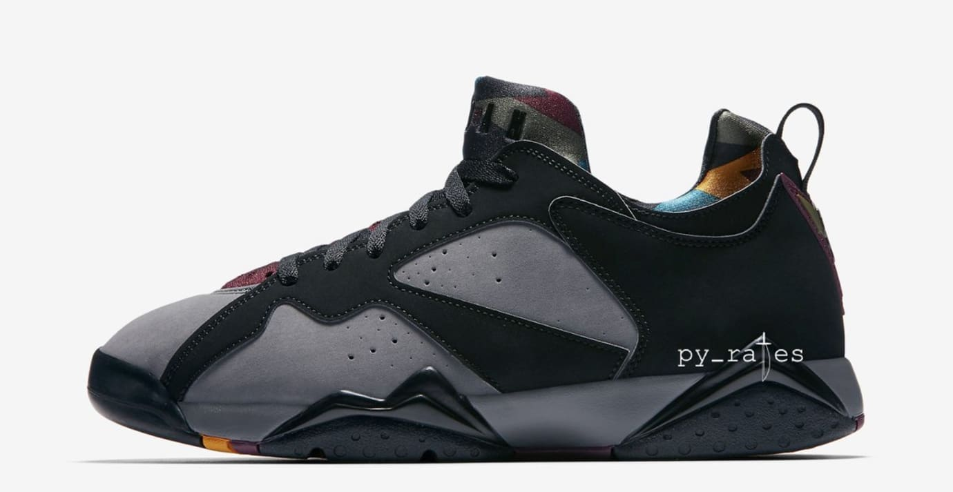 e2da175b1f3e Image via  frankcooker · Air Jordan 7 NRG  Black Light Graphite Midnight  Fog Bordeaux  (