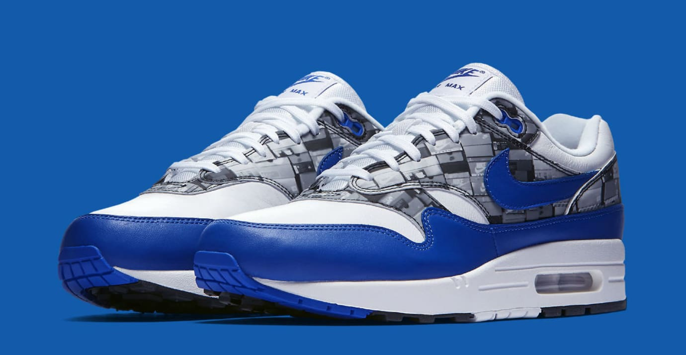 Atmos x Nike Air Max 1 We Love Nike Royal Release Date AQ0927-100 Main