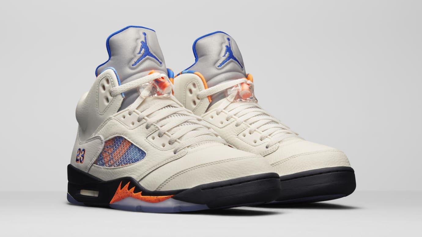 ea1e2136e79a2a Air Jordan 5 V Sail Orange Peel Black Hyper Royal Release Date ...