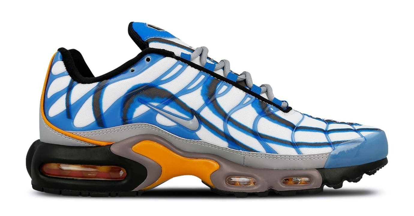 Nike Air Max Plus Premium 'Air Max Deluxe' Photo Blue/Wolf Grey 815995-400 (Medial)