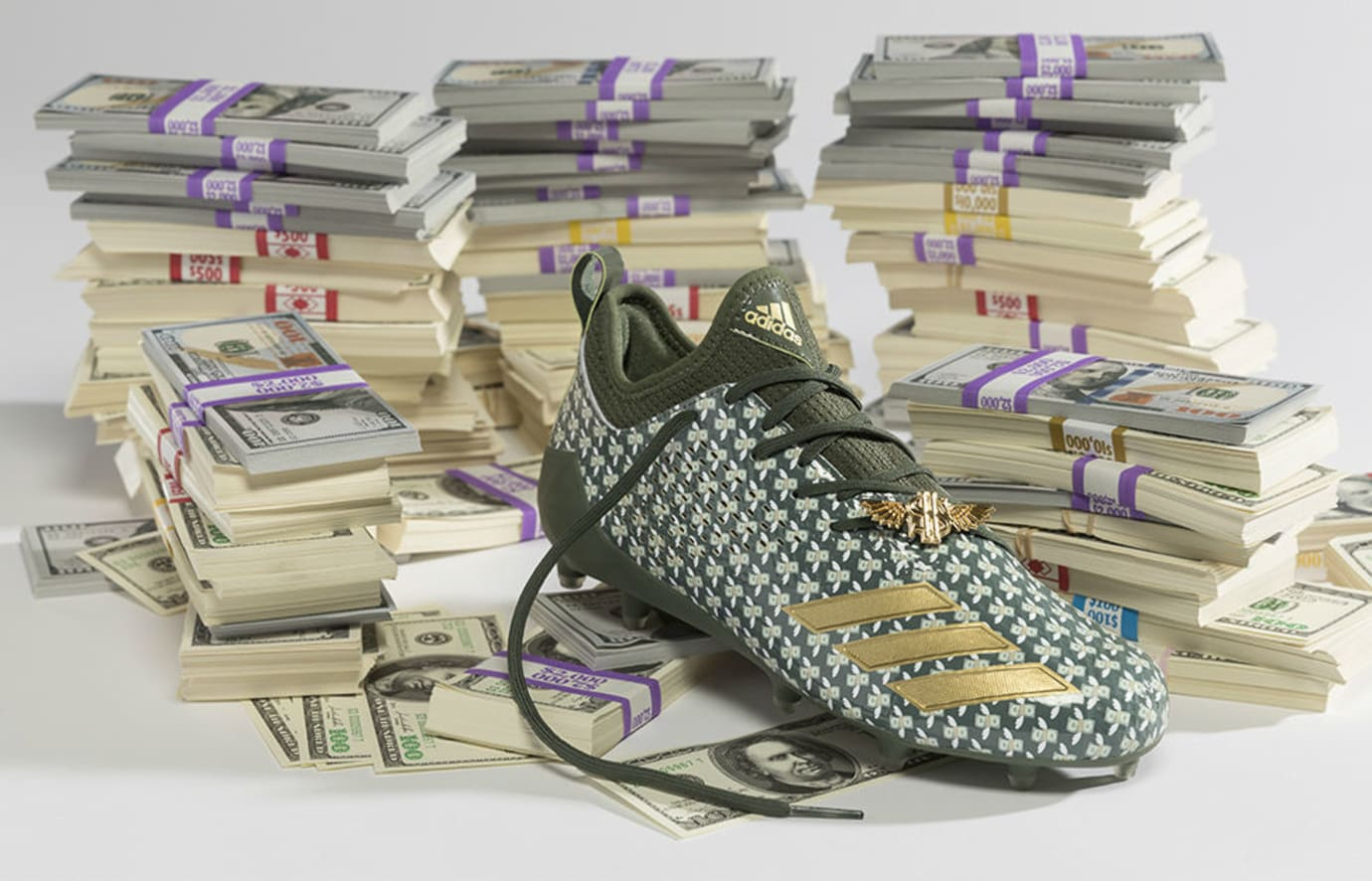 Adidas Adizero 5-Star 7.0 Emoji Cleats Money