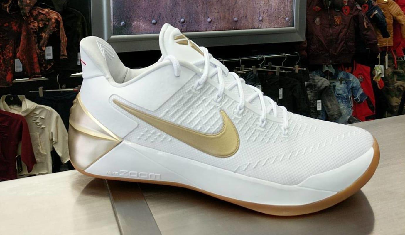 c89a936c22e2 Nike Kobe A.D. White Gold Release Date 852425-107