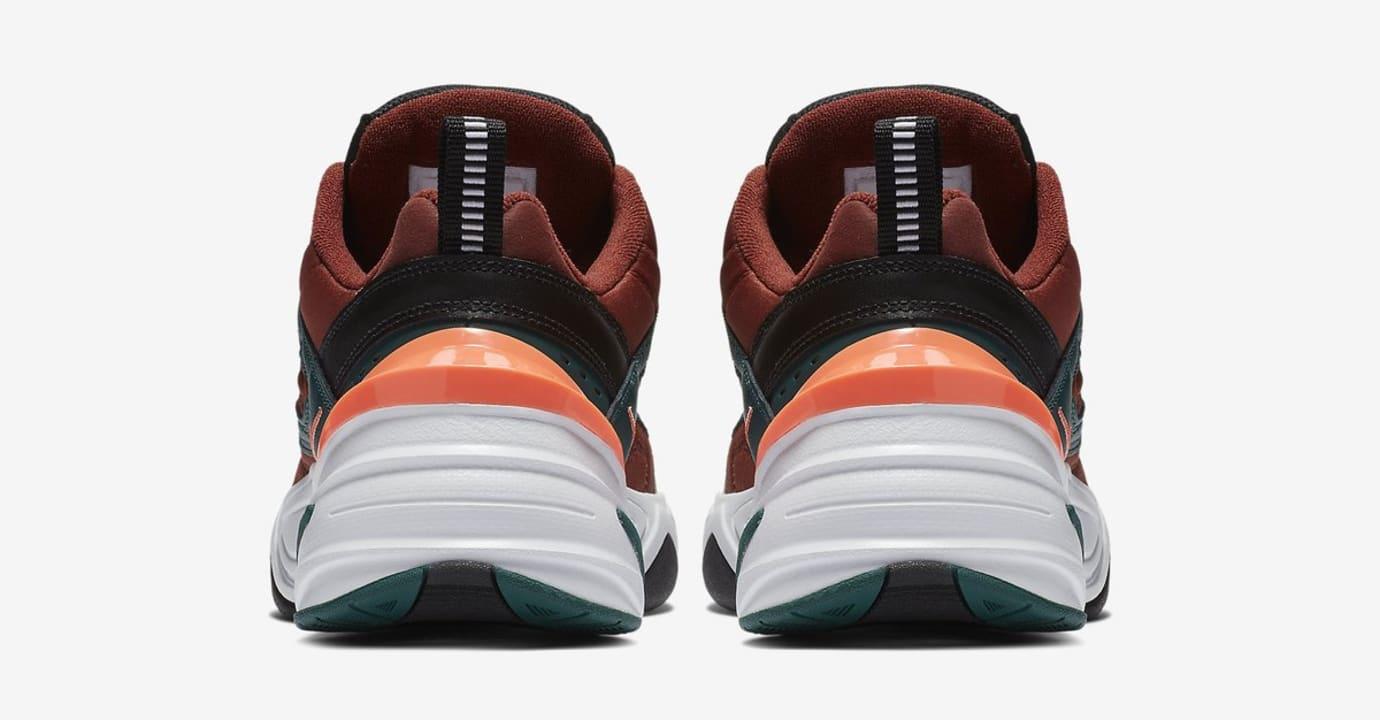 Nike M2K Tekno 'Pueblo Brown/Rainforest/Bright Mango/Black' (Heel)