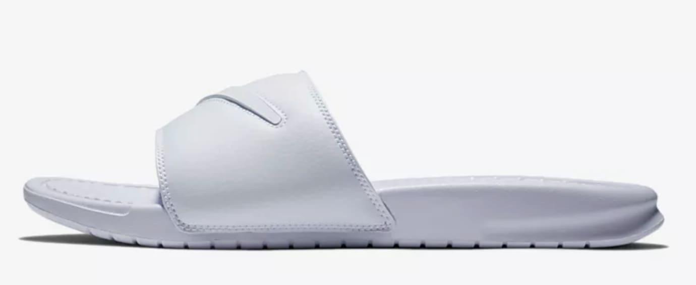 65efbae81 Nike Benassi JTI LTD Slide  Swoosh Pack  AQ8614-100 AQ8614-001 ...