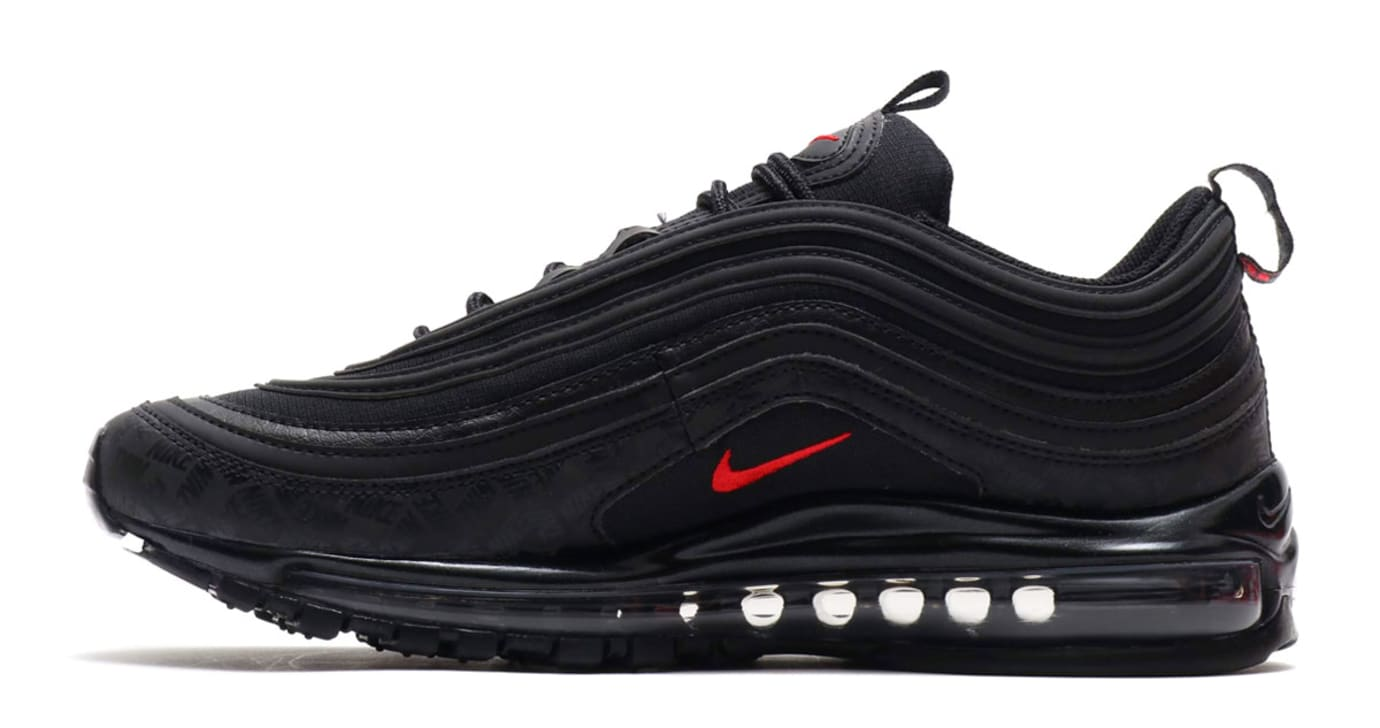 39c12683d03d Nike Air Max 97 Black University Red-Black AR4259-001 Release Date ...
