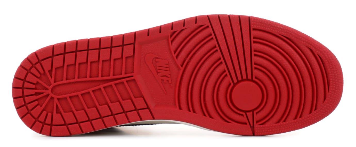 Air Jordan 1 I Bred Toe Release Date 555088-610 Sole