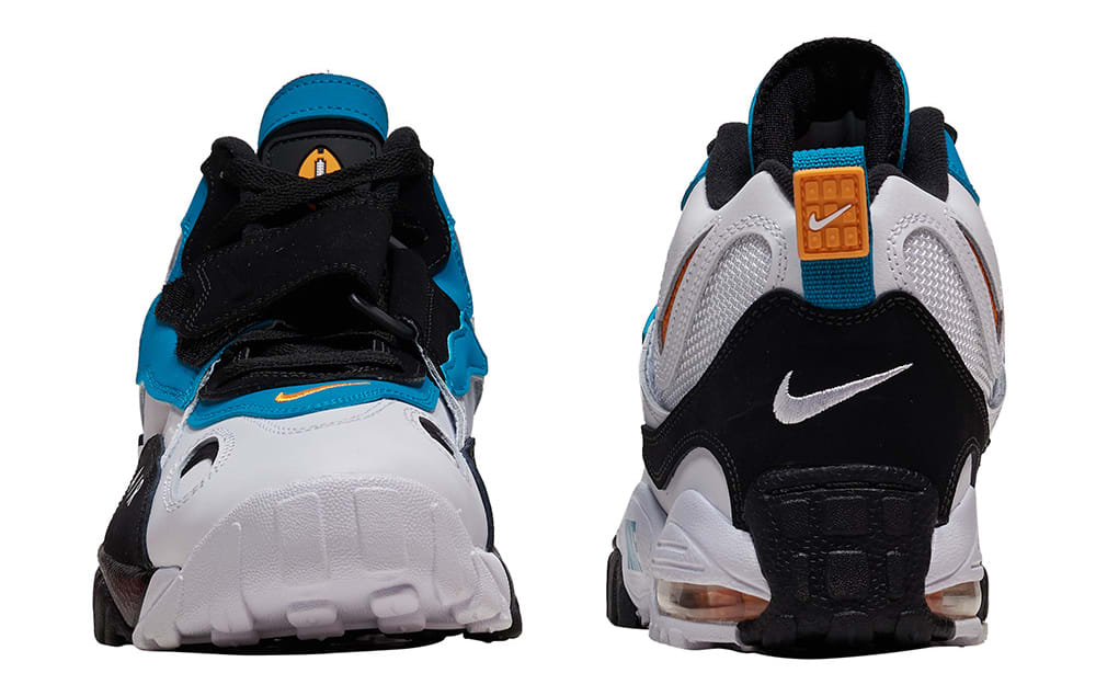 Nike Air Max Speed Turf 'Dolphins' 525225-100 (Front and Heel)