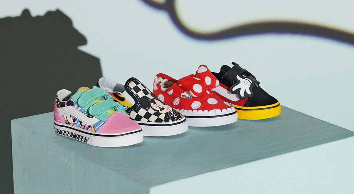 Mickey Mouse x Vans Kid's Styles