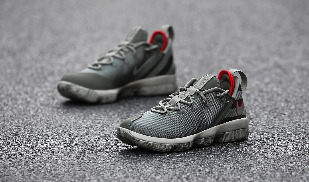 Nike LeBron 14 Low Olive Release Date 878635-003 (5)