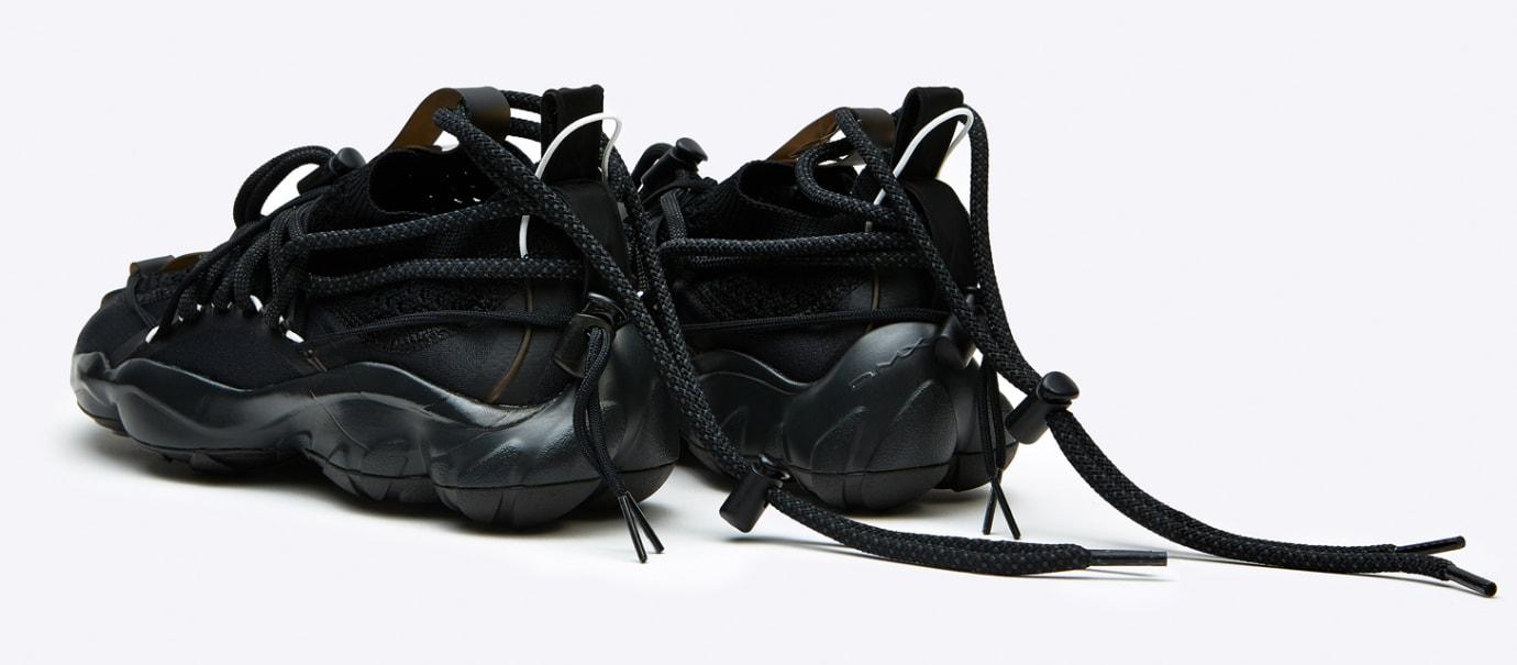 91e3c6916c88ee Image via Pyer Moss Pyer Moss x Reebok DMX Fusion Experiment  Black  (Heel)