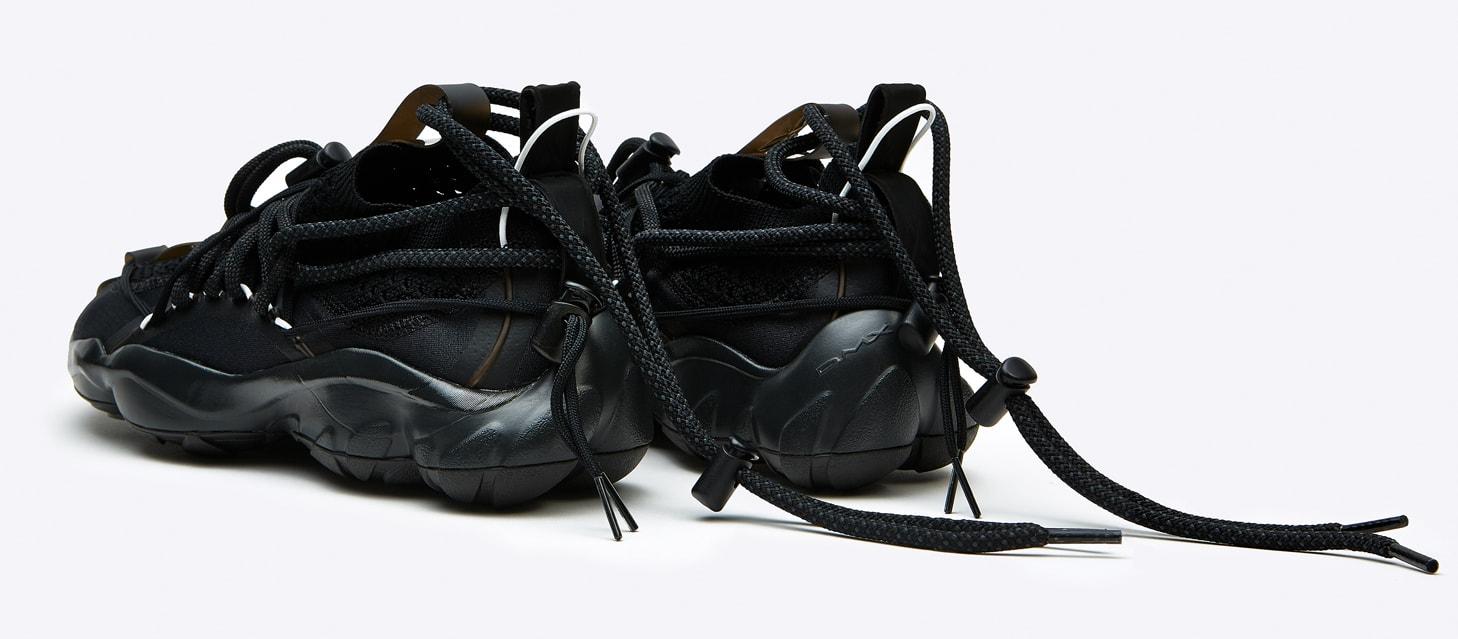 Pyer Moss x Reebok DMX Fusion Experiment 'Black' (Heel)