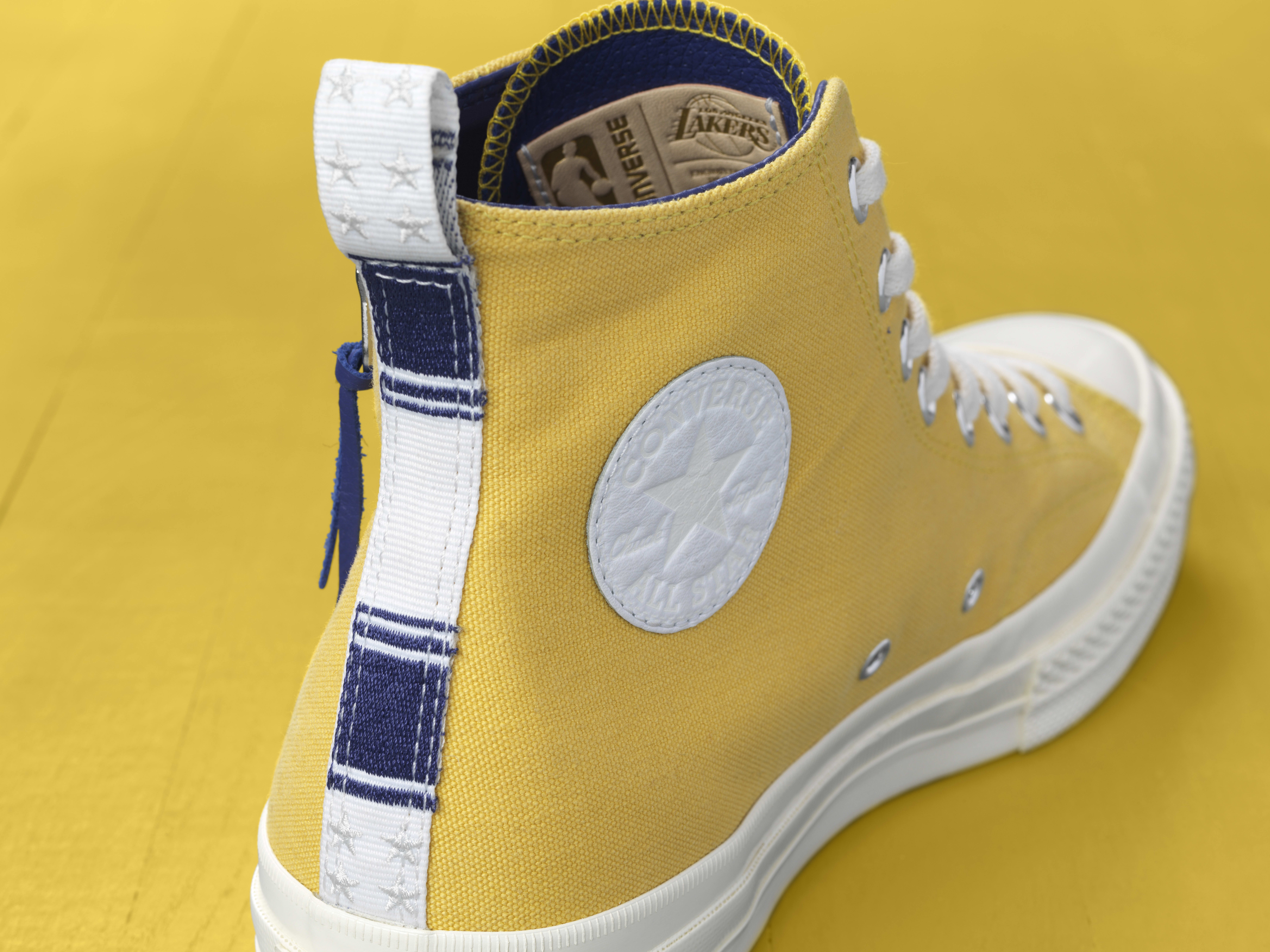 converse x nba discovered 'los angeles lakers'