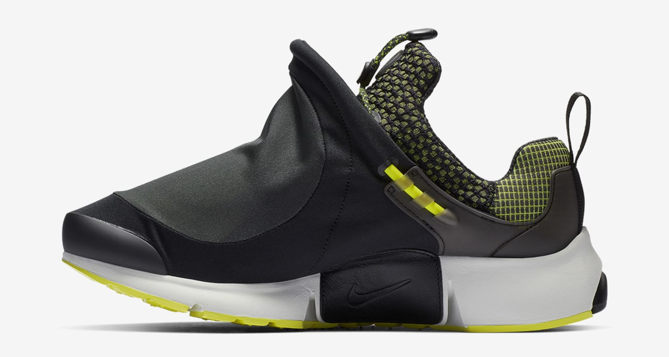 competitive price bc4b4 ccd38 Image via HighsnobietyNike Comme des Garçons x Nike Air Presto Foot Tent  Neon (Medial)